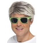 Green 80's Neon Glasses