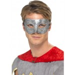 Metallic Warrior Colombina Eye Mask