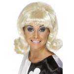 60s Flick Up Wig Blonde