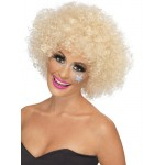 70s Funky Afro Wig Blonde