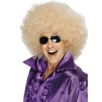 70s Mega Huge Afro Wig Blonde