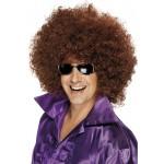 70s Mega Huge Afro Wig Brown