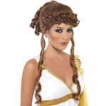 Greek Brown Goddess Wig