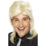 80s Mullet Wig Blonde