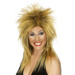 Rock Diva Wig Ginger And Black
