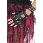 Adult Black Punk Wristband