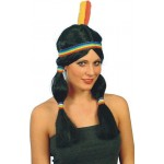 Indian Princess Wig Fancy Dress Smiffys