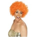 Bargain Funky Orange Affro Wig