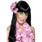 Pink Flower Hair Clip Smiffys