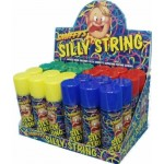 Assorted Silly string Smiffys