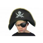 Hat Childs Pirate Captain Hat Smiffys