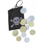 Black Pirate Coin Bag Smiffys