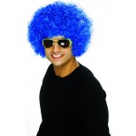 Funky Blue Afro