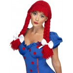 Rag Doll Red Wig
