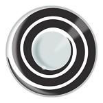 Black Swirl Contact Lenses