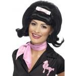 Ladies 50s Beehive Fancy Dress Wig