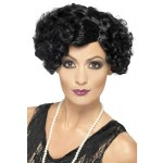 Ladies 1920s Fancy Dress Flapper Wig