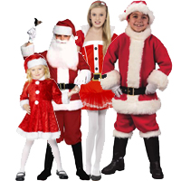 Childrens Santa Suits