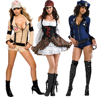 Girls Teen Costumes