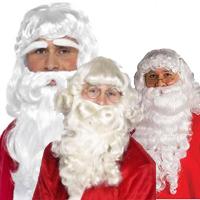 Santa Wigs