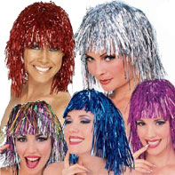 Tinsel Wigs