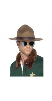 Sheriff Hat, Brown