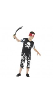 Rotten Pirate Boy Costume