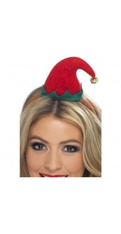Mini Smiffy's Elf Hat