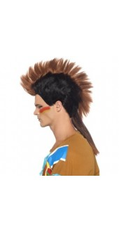 Indian Male Mohican Wig