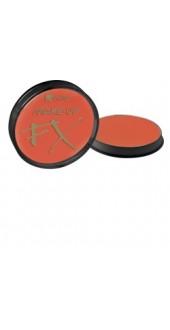 Smiffy's Make-Up Fx, Aqua Face and Body Paint, Orange