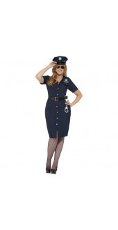 Plus Size Curves NYC Cop Costume