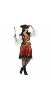 Plus Size Curves Pirate Lady Costume