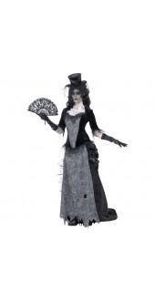 Ladies Ghost Town Black Widow Costume