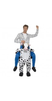Cow Piggy Back Costume