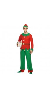 Mens Elf Costume Smiffys