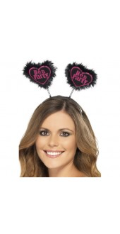 Love Heart Hen Party Boppers
