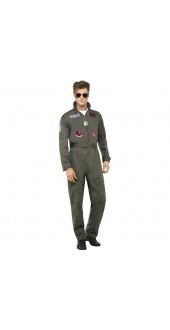 Men's Deluxe Top Gun Costume