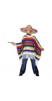 Childs Poncho Fancy Dress