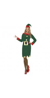 Ladies Christmas Elf Outfit