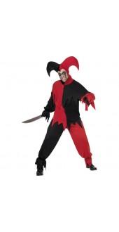 Dark Jester Halloween Costume