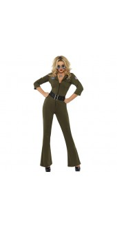 Fever Top Gun Aviator Costume