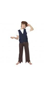 Victorian Poor Peasant Boy Costume