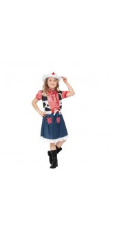 Girls Cowgirl Sweetie Costume