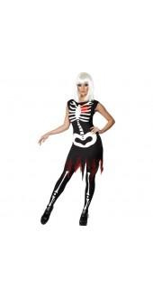 Bright Bones Glow In The Dark Halloween Costume