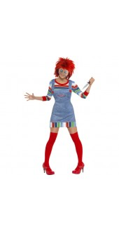 Ladies Chucky Costume