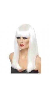 Glamourama Wig, White