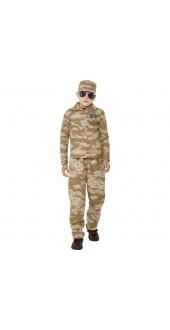 Child's Desert Army Costume
