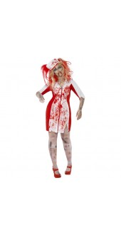 Plus Size Zombie Nurse Costume