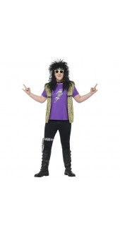 Plus Size 80's Rock Star Costume