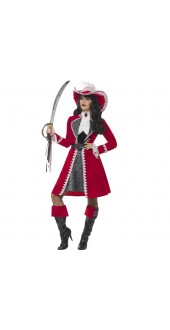 Authentic Lady Captain Costume